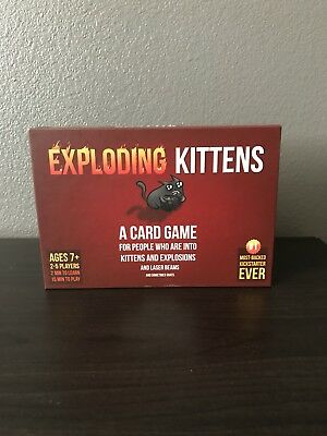 Kartenspiele NEW Exploding Kittens Party Pack Game 52423414
