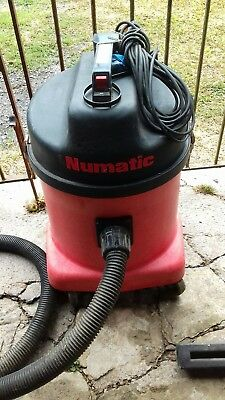 Red  Numatic NVD 572 Industrial Dry Vacuum Cleaner / Hoover