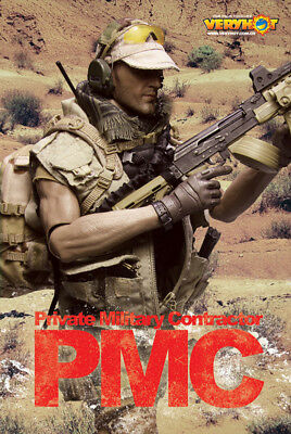 1/6 Set Private Military Contractor PMC Nr.1047 Very Hot Dragon Phicen DAM Toys
