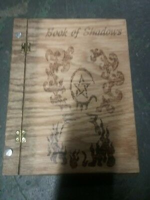 Wooden Book Of Shadows
