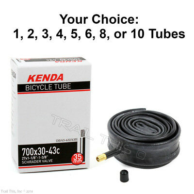 """4 Fat Tire //Bicycle Inner Tubes 26/"""" x 3.50//4/"""" DURO Fatbike 33mm Schrader #25"""