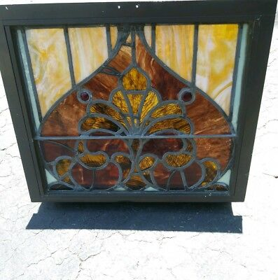 1900's Church Stained Glass Window