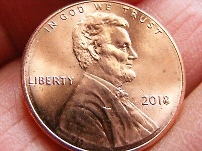 """2018 DOUBLE DIE filled """"8""""Lincoln Shield Cent Mint Errors"""