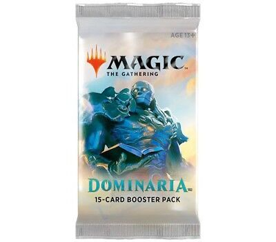 Magic The Gathering Mtg Dominaria Factory Sealed (4) Booster Packs