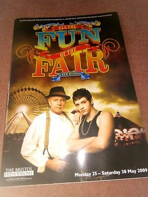 David Essex All the fun of the Fair 2009 musical programme
