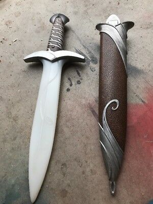 LOTR LORD OF THE RINGS STING ELECTRONIC FX SWORD SHEATH Frodo Lord Of The Rings