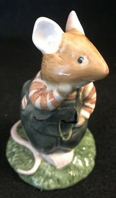 Beatrix Potter Brambly Hedge ~ WILFRED TOADFLAX Figurine ~ Royal Doulton 1982