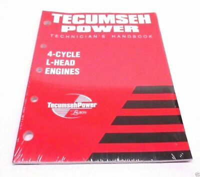 Genuine Tecumseh 740049 Technician's Handbook 4-Cycle For L-Head Engines OEM