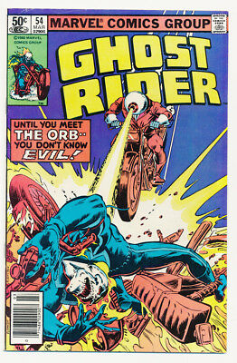 Marvel Ghost Rider 1978 - 1982 #28 Fine, #54 & 75 Vf  Free Shipping