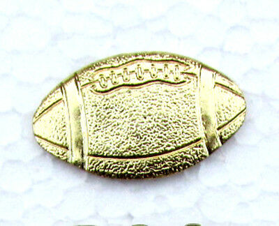 FOOTBALL Chenille-Sports-Lapel-Jacket-Award Pins School-Team-Party FastShip