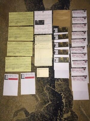 1937-1970 Northern Pacific Railroad Historic Ephemera Lot.  Seattle WA  Lot NP2