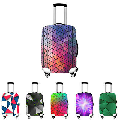 18-28 Inch Geometric Luggage Suitcase Cover Dustproof Protector Case Travel Bag