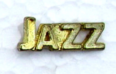 JAZZ Chenille-Sports-Lapel-Jacket-Award Pins School-Party-Club-Band FastShip