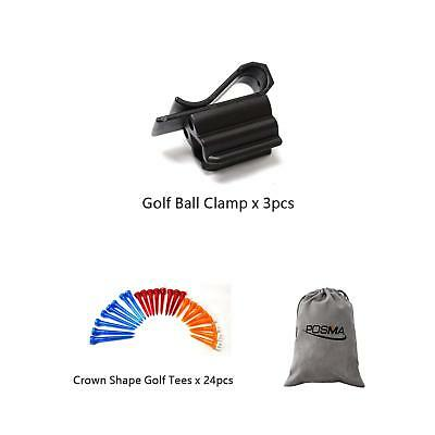 Posma BCA030 golf ball clamp 3pcs bundle set