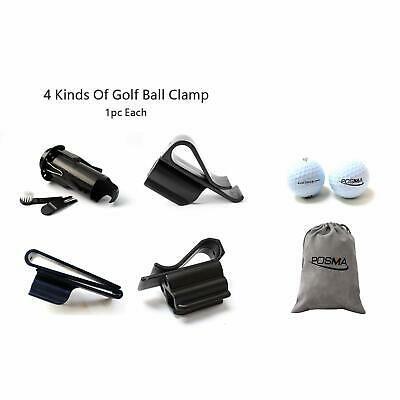 Posma BCA010A 4 kinds of golf ball clamp bundle set