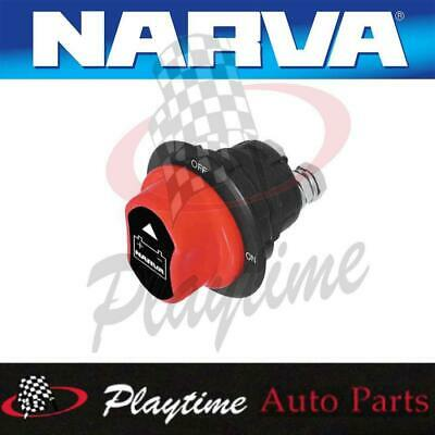 Narva Mini Battery Isolator Master Switch On / Off Removable Knob Marine Auto