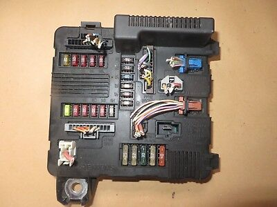 renault megane scenic engine bay fuse box 8200306032a 2003-2008 tested