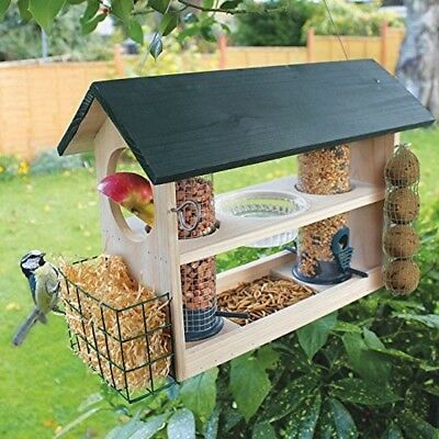 Bird Feeding Variety Station wild garden Bird Hotel Birds house feeder box