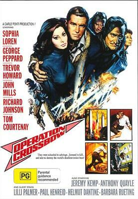 Operation Crossbow DVD New and Sealed Australian Release