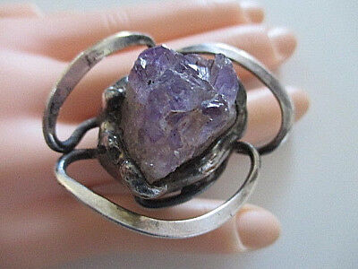 DESIGN RING ° Modernist ° AMETHYST ° Skandinavisches Design ° DÄNEMARK °