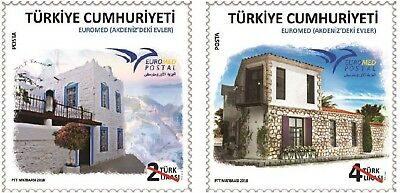 Turkey 2018, Euromed, House In The Mediterranean, Mnh