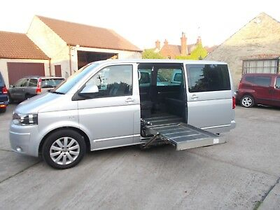 Wheelchair Accessible Wav Disabled  Vw Volkswagon Caravelle Exec Pass Up Front