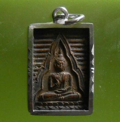 Perfect Somdej Lp Sod Thai Amulet Wealth Luck Rare !!!