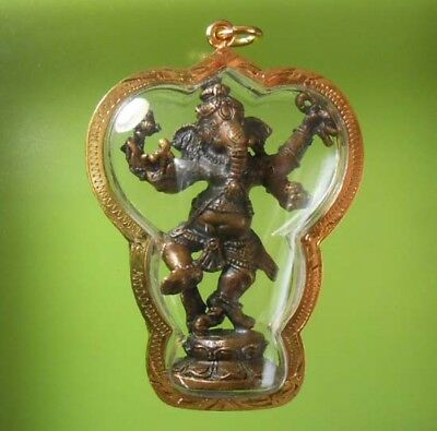 Perfect Pendant Mini Statue Ganesha God Hindu Amulet !!!