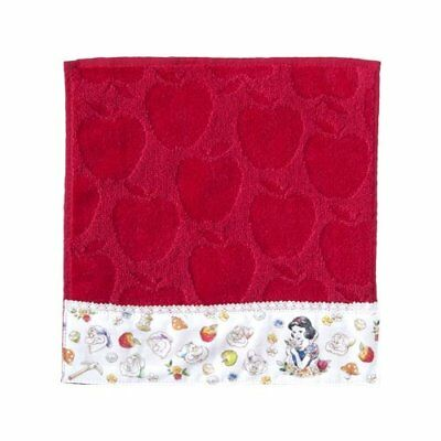 TokyoDisneyResort Limited Snow White Seven Dwarfs Mini Towel red Afternoon tea