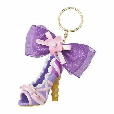 Tokyo Disney Resort limited Shoes Key chain Rapunzel Key ring from Japan F/S