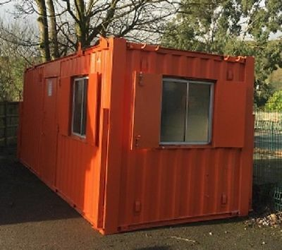 21 ft x 9 ft Anti Vandal Office & Canteen