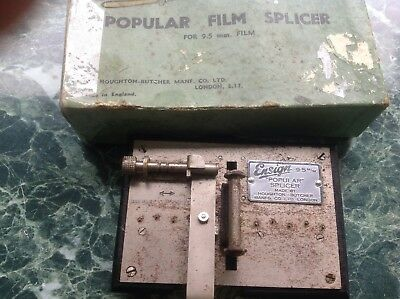 Ensign Popular film splicer for 9.5mm