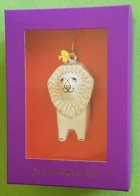 Kate Spade Woodland Park Lion Ornament:nib Lion (Darling!)