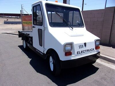 "Taylor Dunn Industrial Flatbed Electric Utility Cart - Truck ""nice"""