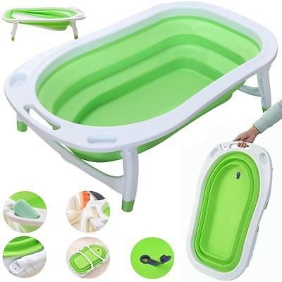 iSafe Flat Foldable Recline New Born Baby Bath - LIME