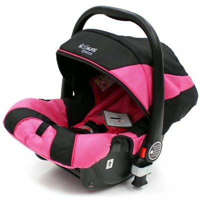 iSafe Infant Carseat Group 0+ - Raspberry For iSafe Pram System