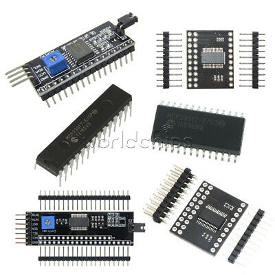 MCP23017 1602/2004/12864 I2C IIC/SPI Serial Interface 5V LCD Expander Module