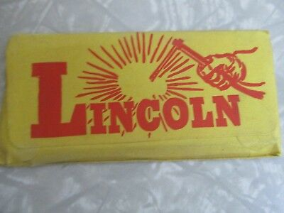 Vintage welding mask lens Lincoln dead stock in package