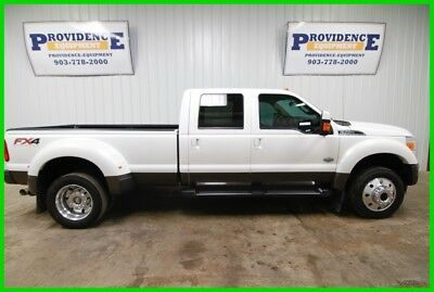 2016 Ford F450 King Ranch 4X4 Off Road Highway Miles Front & Rear Heated Seats!