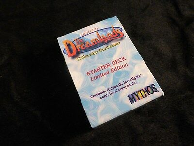 Mythos CCG : The Dreamlands - Starter Deck Limited Edition Set - Boxed Card Pack
