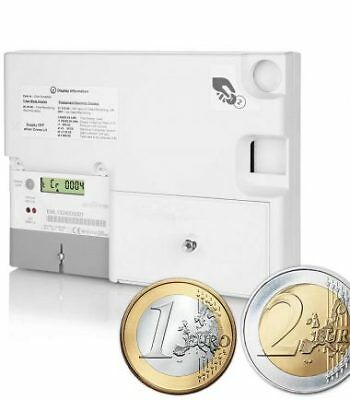 Emlite Electric € EURO Coin Digital Prepayment Meter Landlord Caravans To Let