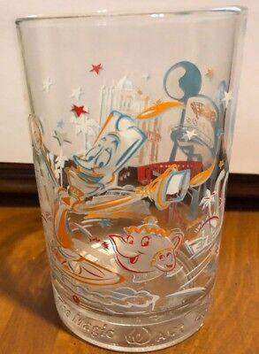 Walt Disney World Glass McDonald's 25th Anniversary Hollywood Vine Disney Studio