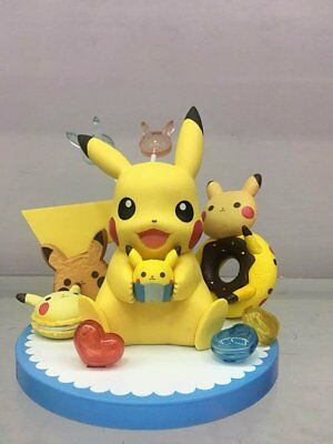 Pokemon  Tea Party Pikachu's Sweets Collection Pikachu PVC Figure New In Box