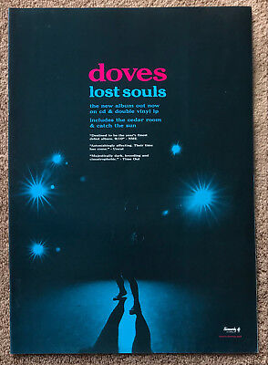 DOVES - LOST SOULS 2000 Full page UK magazine ad