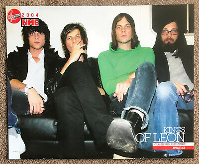 KINGS OF LEON - 2004 Full page UK magazine poster