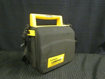 Medtronic LifePak500 Automated External Defibrillator WITH Case, WITHOUT Pads
