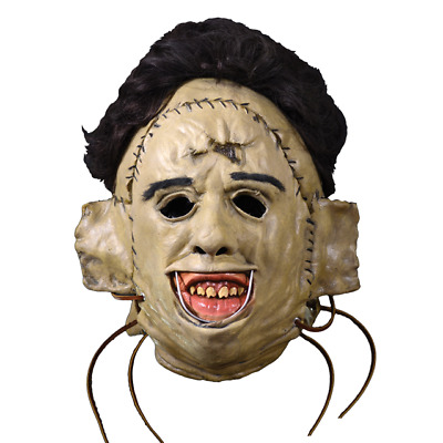 Texas Chainsaw Massacre Leatherface 1974 Killing Mask by Trick Or Treat Studios