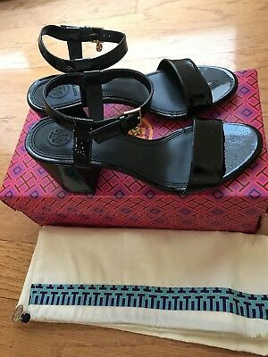 0461494ab9d2f TORY BURCH LAUREL Ankle Strap Heeled Sandal Size 6.5 - $109.99 ...