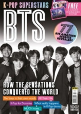 K Pop Superstar BTS Magazine NEW