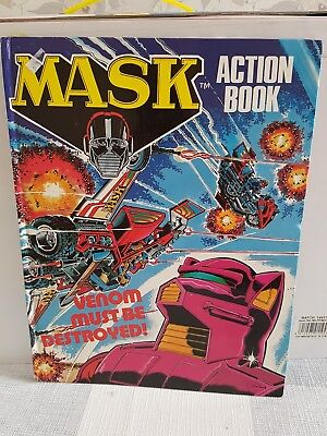 MASK ACTION BOOK Annual 1988 - UK Fleetway Rare